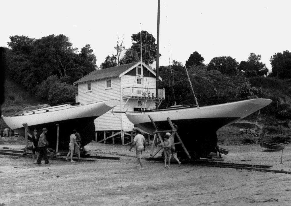 Boat Maintenance 1939